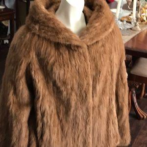 Vintage Genuine Mink Fur Jacket